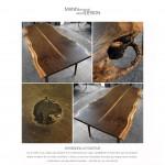 KNUTHENBORG- Spisebord-plank
