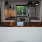 Røget eg køkkenbord - køkkenbordplade - røget eg 3