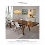 Spisebord-plankebord-Dansk elmetræ-Fredensborg