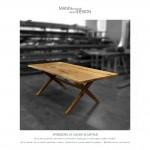 Spisebord - plankebord - Dansk elmetræ - macita