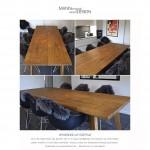 Flåde eg - Spisebord-plankebord-egetræ-Knuthenborg