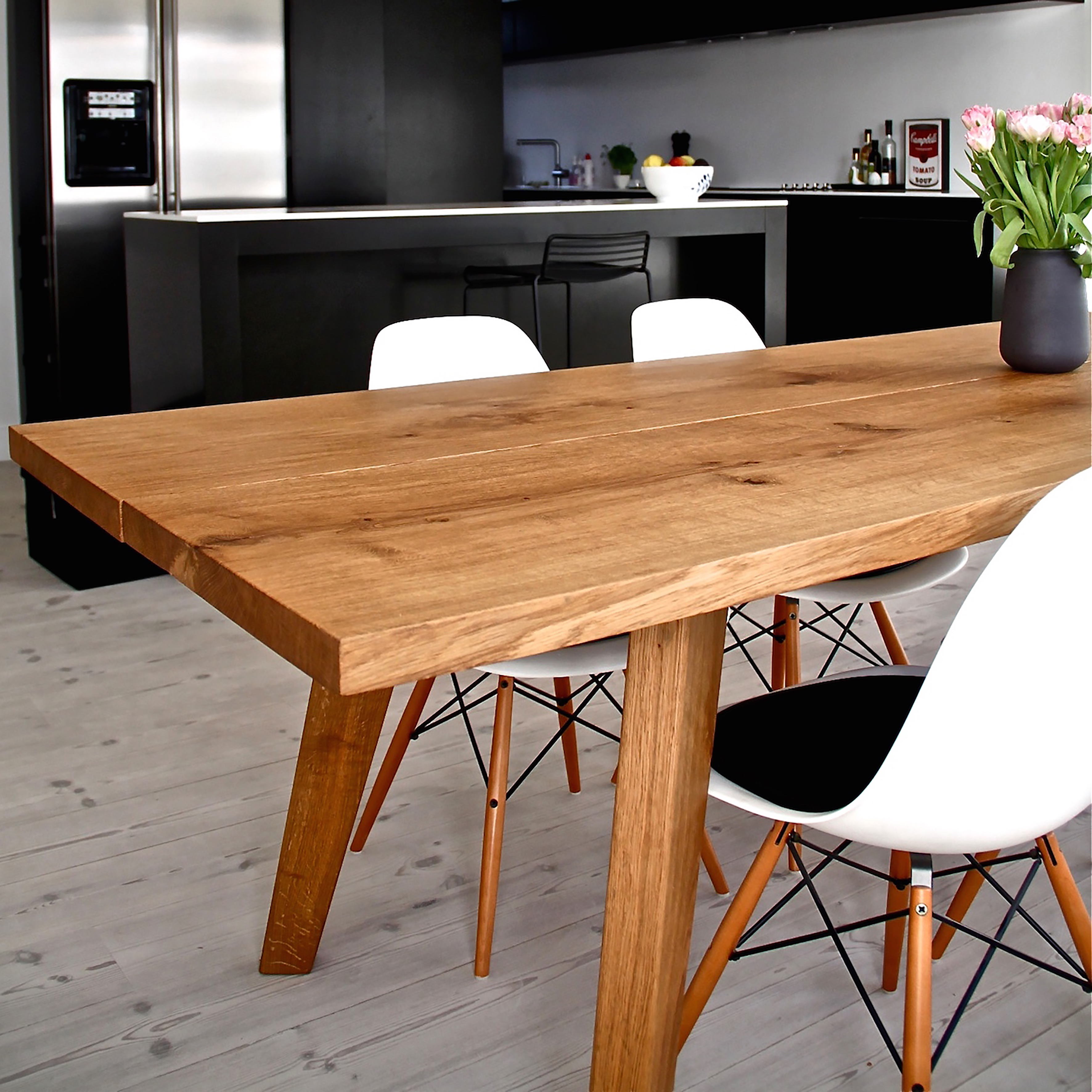 Nytt Spisebord | Designer Planke spiseborde i bl.a. massiv Eg | Mann Design BO-87