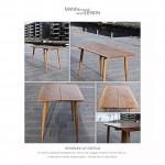 Spisebord-plankebord-egetræ-Køkkenbord