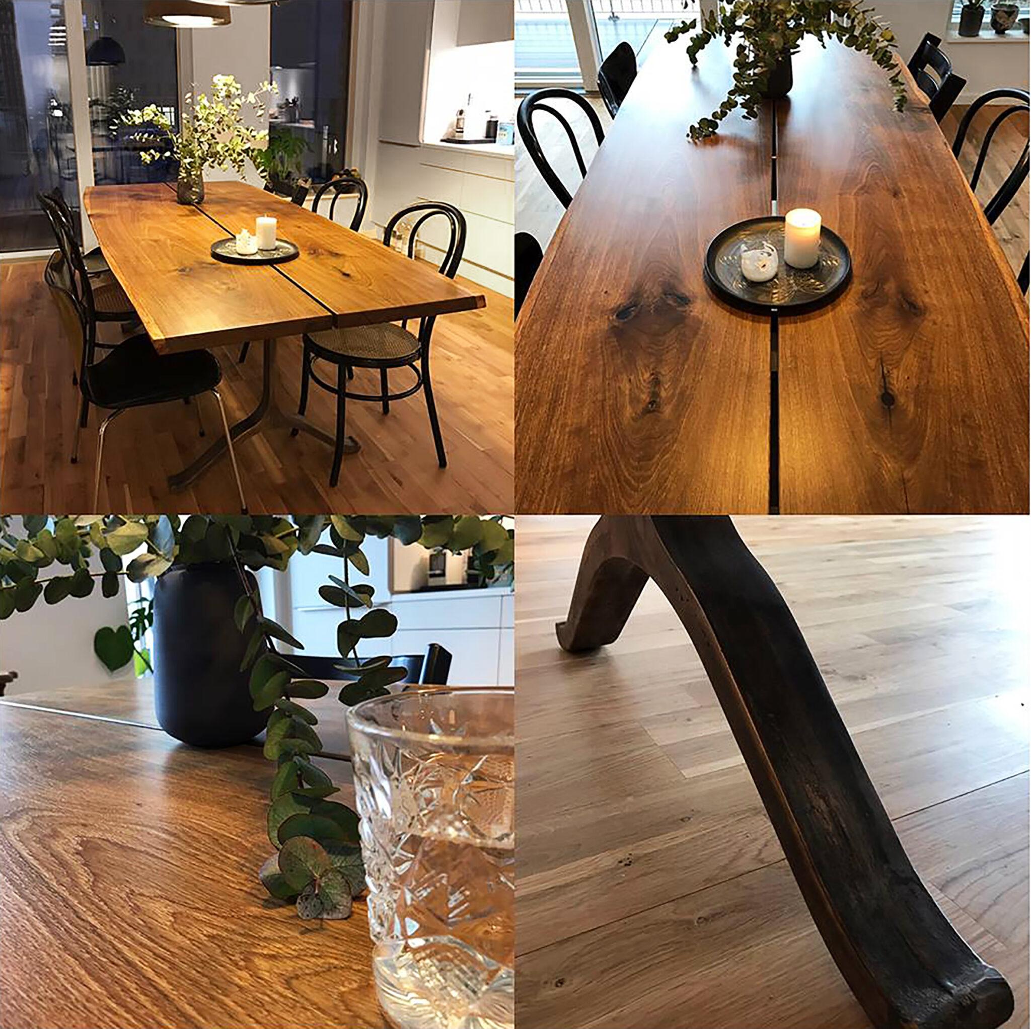 Snave spisebord - Plankebord