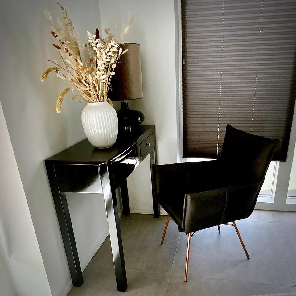 kobber sort stol