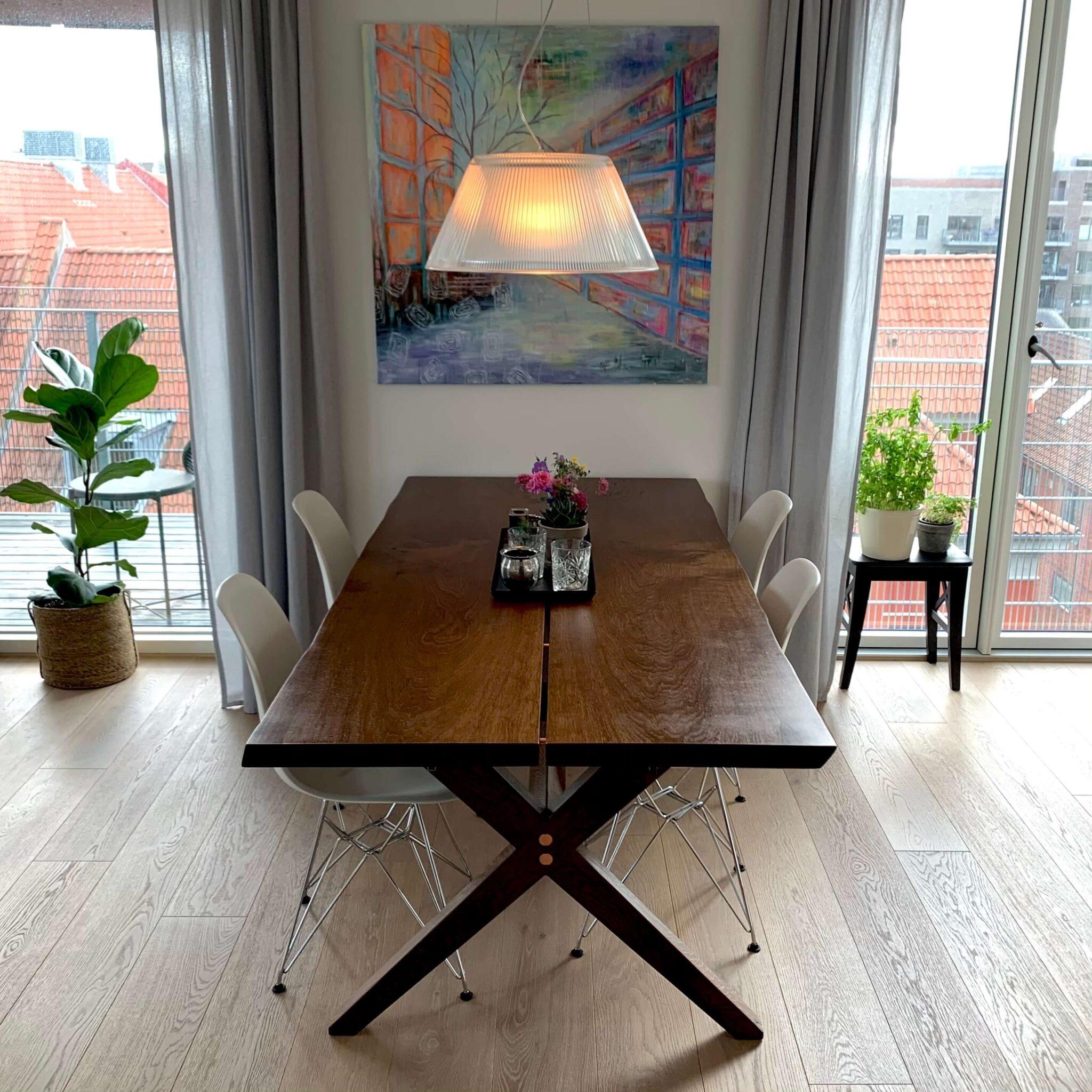 Mørkrøget Nordhavn plankebord