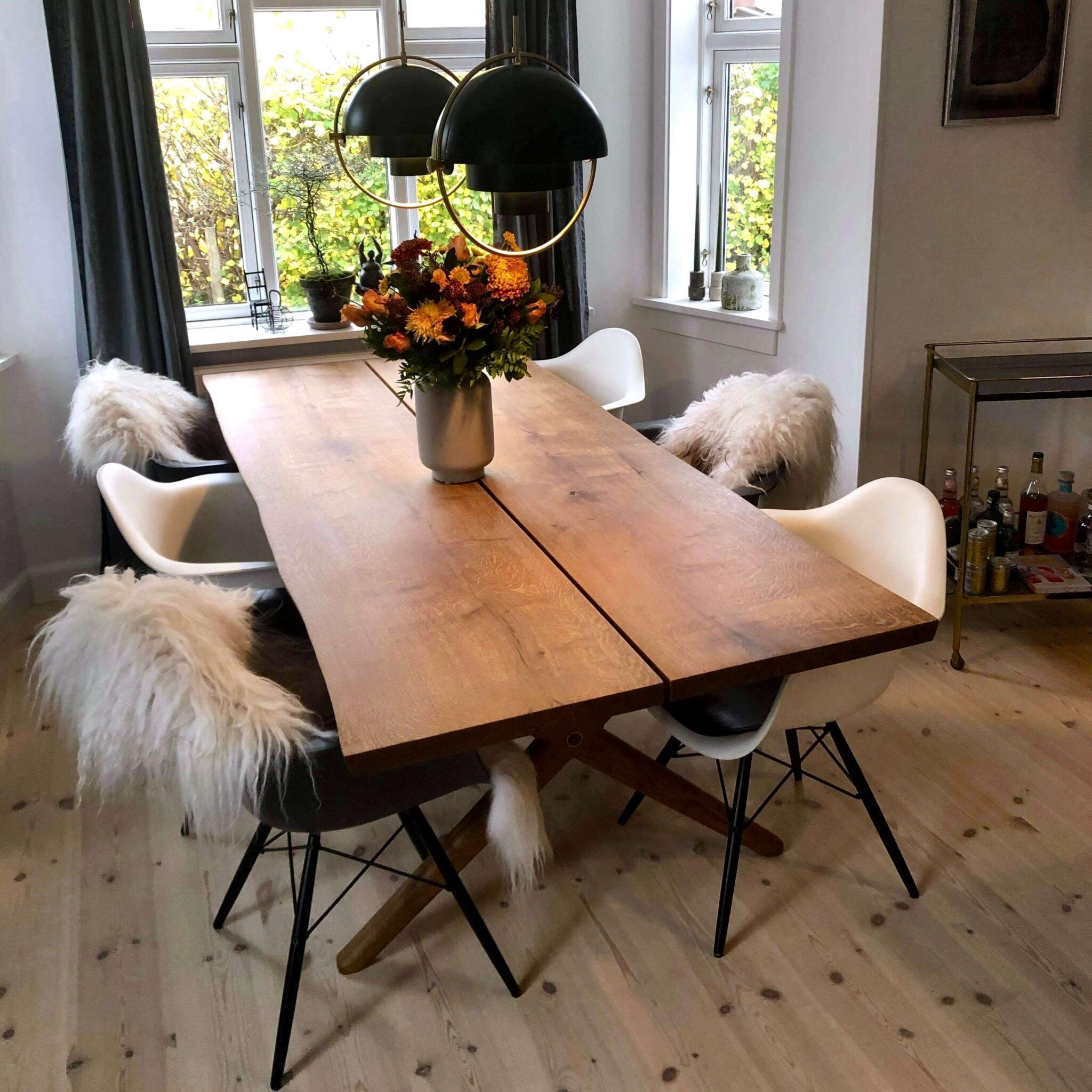rustikt plankebord gammel dansk eg