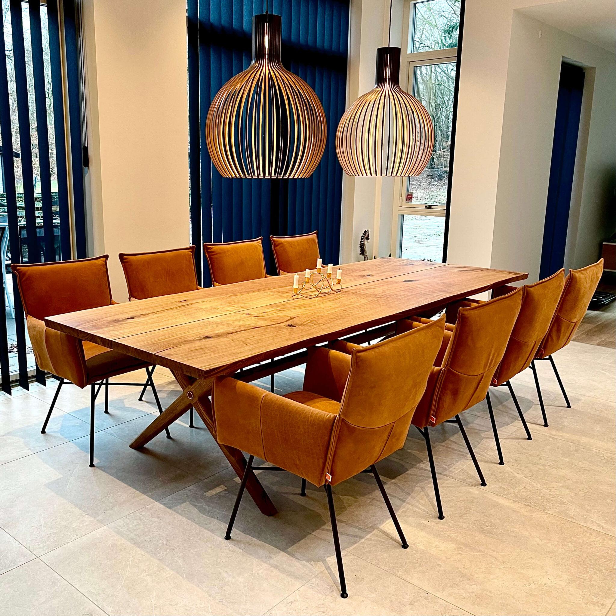 spisebord dansk egeplanker